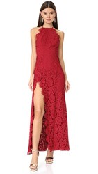 Fame And Partners The Dragon Eyes Dress Burgundy