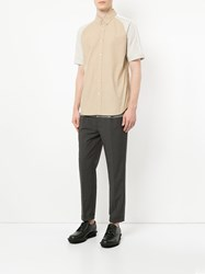 Guild Prime Color Blocked Trousers Grey