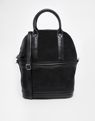 Asos Zip Around Bowling Bag Black