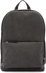 3.1 Phillip Lim Grey Canvas 31 Hour Backpack