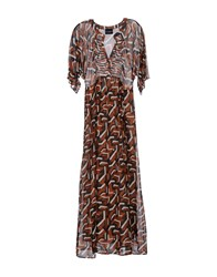 Atos Lombardini Dresses Long Dresses Women Brown