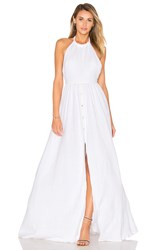 Mara Hoffman Organic Cotton Backless Dress White