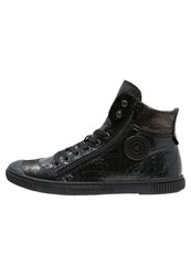 Pataugas Bono Hightop Trainers Noir Black