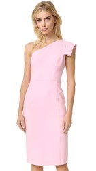 Black Halo Amelie One Shoulder Dress Misty Pink