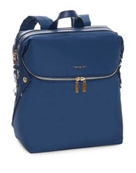 Hedgren Paragon Medium Backpack Dress Blue