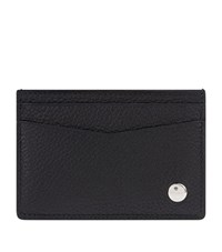 Dunhill Boston Leather Card Holder Unisex Black