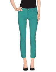 Baandsh Denim Denim Trousers Women Green