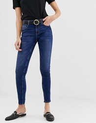 Pieces Five Skinny Jeans Blue