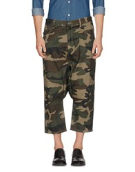 Mostly Heard Rarely Seen Trousers 3 4 Length Trousers Military Green