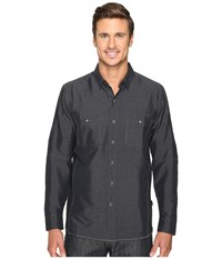 Kuhl Renegade Long Sleeve Shirt Carbon Men's Long Sleeve Button Up Gray