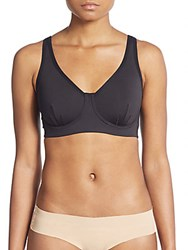 Josie Natori Underwire Sports Bra Black