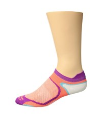Wigwam Runvious Pro Low Pink Conch Crew Cut Socks Shoes
