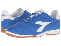 Diadora Brasil R Id Royal White Matchwin Men's Soccer Shoes Blue