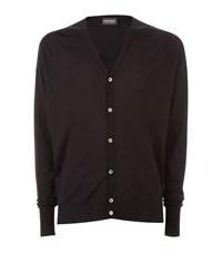 John Smedley Button Up Cardigan Male