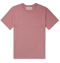 Mollusk Daily Driver Cotton Jersey T Shirt Pink