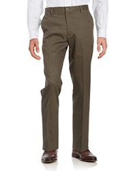 Dockers Signature Khaki Straight Fit Pants Brown