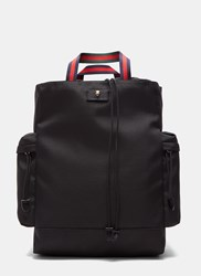 Gucci Techno Canvas Drawstring Backpack Black