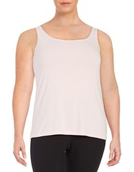Lord And Taylor Plus Iconic Slimming Tank Sweet Kiss
