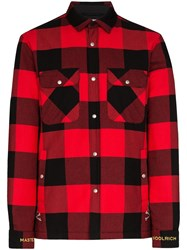 Woolrich X Mastermind Buffalo Checked Jacket 60