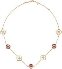 Chopard Imperiale 18Ct Rose Gold And Amethyst Necklace