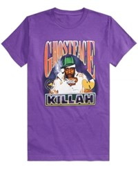 Fea Ghostface Killah Graphic Print T Shirt Purple