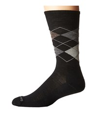 Smartwool Diamond Jim Black Fossil Men's Crew Cut Socks Shoes