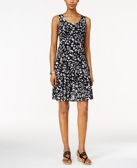 Styleandco. Style And Co. Petite Sleeveless Printed Sheath Dress Only At Macy's Bantu Bloom