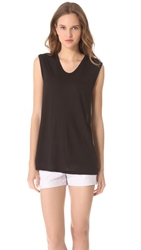 Alexander Wang Classic Muscle Tee Black