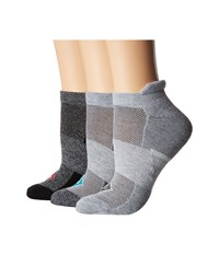 Sperry 3 Pack Performance Tab Ultra Low Show Gray Marl Assorted No Show Socks Shoes Multi