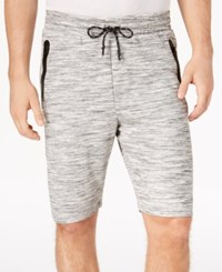 Ring Of Fire Men's Heathered Knit Shorts Gray