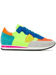 Philippe Model Tropez Low Top Trainers Green