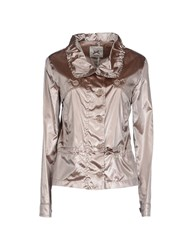 Gaudi' Coats And Jackets Jackets Women Dove Grey