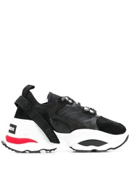 Dsquared2 Fabric Mix Sneakers Black