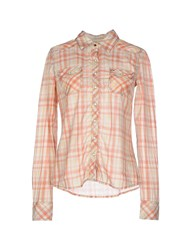 Tommy Hilfiger Denim Shirts Shirts Women Light Yellow