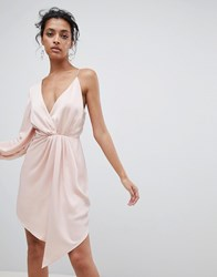 C Meo Collective Asymmetric Dress Shell Pink