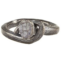 M. Cohen Rusty Nail Ring Oxidized