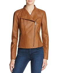 Marc New York Felix Leather Jacket Whiskey