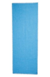 Nordstrom Cashmere And Silk Wrap Blue Camp