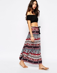 Esprit Printed Maxi Skirt Multi