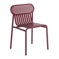 Petite Friture Week End Chair Red