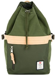 As2ov Drawstring Backpack Green