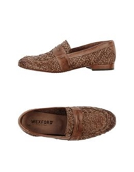 Wexford Moccasins Light Brown