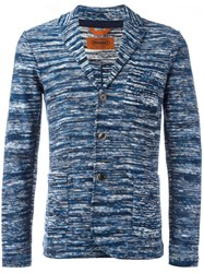 Missoni Three Button Blazer Blue