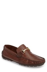 Steve Madden Men's Zorzi Loafer Brown Brown Leather