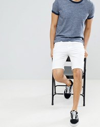New Look Shorts With Pocket Detail In White