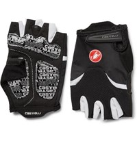 Castelli Arenberg Gel Ax Suede And Jersey Cycling Gloves Black