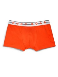 Hugo Boss Boss Logo Boxer Briefs Orange Blue