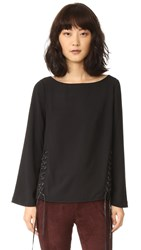 Eleven Paris Tower Blouse Black
