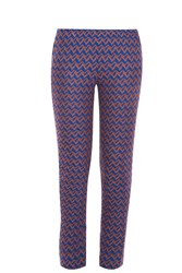 Missoni Woven Trousers Blue