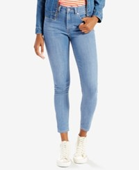 Levi's 721 Orange Tab High Rise Skinny Ankle Jeans Select For Macy's Ot Breeze